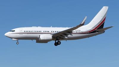 N737CM - Boeing 737-7BC(BBJ) - Private