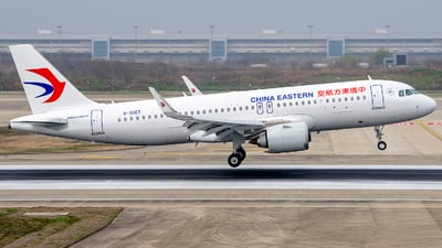 A picture of B30ET - Airbus A320251N - China Eastern Airlines - © ZHOUYIFEI