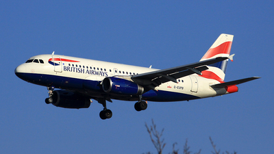 A picture of GEUPB - Airbus A319131 - British Airways - © Michael Eaton