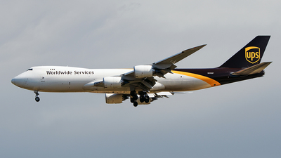 A picture of N618UP - Boeing 7478F - UPS - © Huang Chengjen