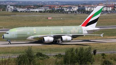 F-WWAN - Airbus A380-861 - Emirates