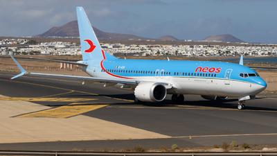 EI-RZB - Boeing 737-8 MAX - Neos