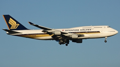9V-SPL - Boeing 747-412 - Singapore Airlines