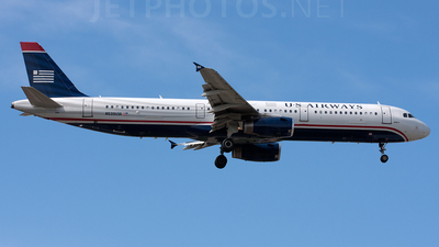 N539UW - Airbus A321-231 - US Airways