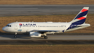 A picture of PTTMA - Airbus A319132 - LATAM Airlines - © Bruno Orofino