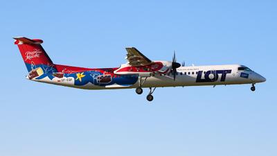 SP-EQF - Bombardier Dash 8-Q402 - LOT Polish Airlines