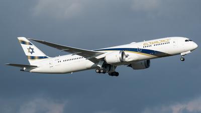 4X-EDM - Boeing 787-9 Dreamliner - El Al Israel Airlines