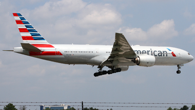 A picture of N777AN - Boeing 777223(ER) - American Airlines - © Conor Clancy