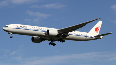 A picture of B1266 - Boeing 77739L(ER) - Air China - © M.T