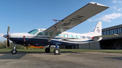 A picture of HBTEN - Cessna 208B Grand Caravan EX - Swiss Flight Services - © Mirko Bleuer
