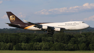 N576UP - Boeing 747-44AF(SCD) - United Parcel Service (UPS)