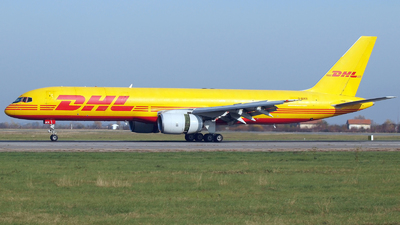 A picture of GBIKR - Boeing 757236(SF) - DHL - © Marin Ghe.
