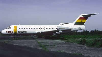 9G-ADA - Fokker F28-4000 Fellowship - Ghana Airways