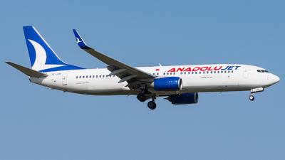 TC-JZR - Boeing 737-8JP - AnadoluJet