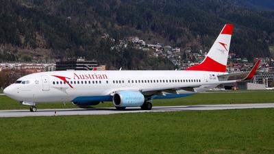 OE-LNS - Boeing 737-8Z9 - Austrian Airlines