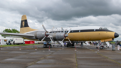 G-AOVT - Bristol Britannia Series 312F - Monarch Airlines