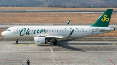 A picture of B306P - Airbus A320251N - Spring Airlines - © ECO707