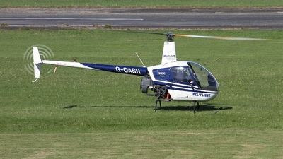 G-OASH - Robinson R22 Beta - Heliflight UK