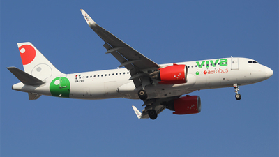 A picture of XAVIB - Airbus A320271N - VivaAerobus - © Alejandro Aceves