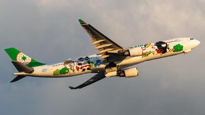 A picture of B16331 - Airbus A330302 - EVA Air - © Lam Yim-Skies of Pearl