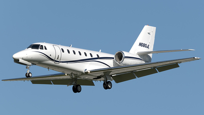 N680JL - Cessna 680 Citation Sovereign - Private