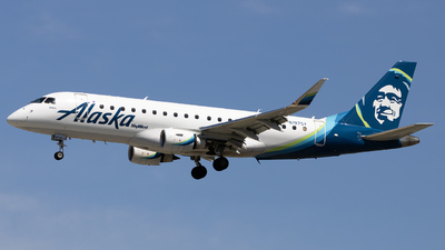 A picture of N197SY - Embraer E175LR - Alaska Airlines - © Angelos Panou