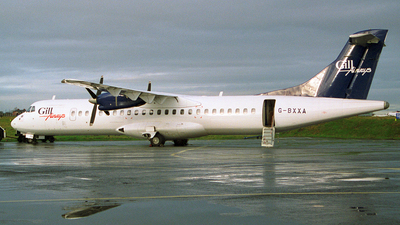 G-BXXA - ATR 72-202 - Gill Airways