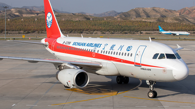 A picture of B2298 - Airbus A319133 - Sichuan Airlines - © Yan Shuai