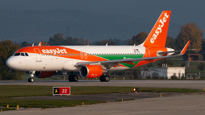 A picture of OEIVC - Airbus A320214 - easyJet - © Alexandre Faroux