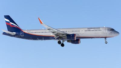 A picture of VQBTT - Airbus A321211 - Aeroflot - © SN7756