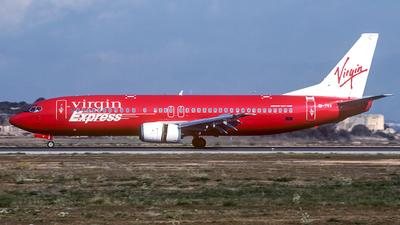 EI-TVA - Boeing 737-43Q - Virgin Express Ireland