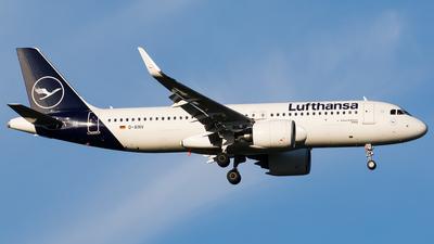 A picture of DAINV - Airbus A320271N - Lufthansa - © Teemu Pesonen