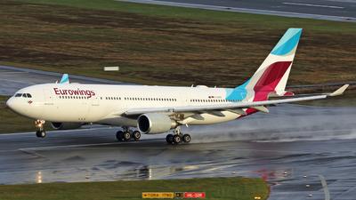 D-AXGG - Airbus A330-203 - Eurowings