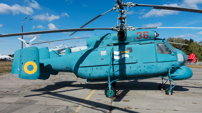 36 - Kamov Ka-25PL Hormone-A - Ukraine - Navy