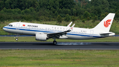 A picture of B30C7 - Airbus A320271N - Air China - © ECO707