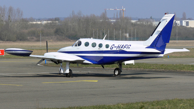 A picture of GHAFG - Cessna 340A - [340A1806] - © Pierre Guilpain