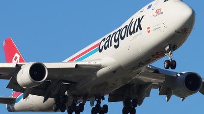 A picture of LXVCA - Boeing 7478R7(F) - Cargolux - © CHA CHA