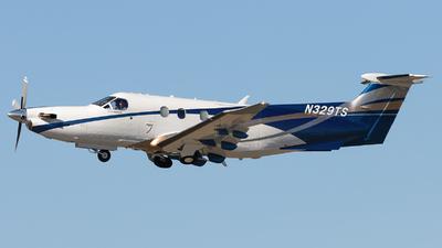 A picture of N329TS - Pilatus PC12/47E - [1562] - © Maik Voigt