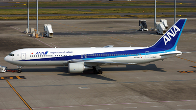 JA618A - Boeing 767-381(ER) - All Nippon Airways (Air Japan)