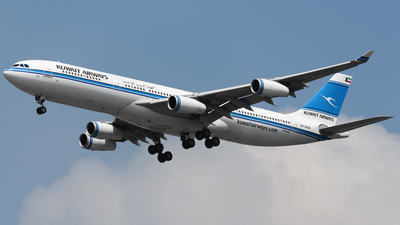 9K-ANA - Airbus A340-313 - Kuwait Airways