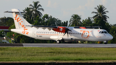 PK-WHV - ATR 72-212A(600) - Wings Air
