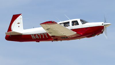 N477T - Mooney M20F Executive - Private