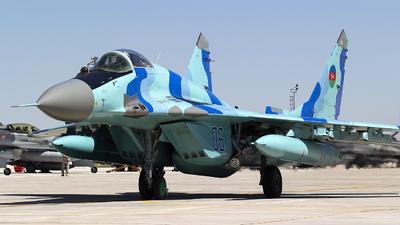 06 - Mikoyan-Gurevich Mig-29UBM Fulcrum  - Azerbaijan - Air Force