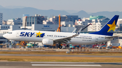 A picture of JA73NA - Boeing 7378HX - Skymark Airlines - © Resupe