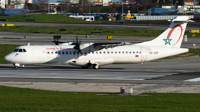 CN-COF - ATR 72-212A(600) - Royal Air Maroc Express