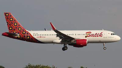 PK-LUL - Airbus A320-214 - Batik Air