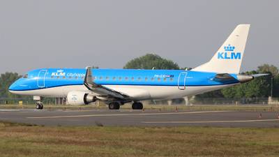 A picture of PHEXI - Embraer E175STD - KLM - © Carlo Luigi Tamiazzo