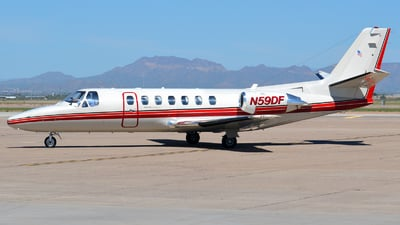 A picture of N59DF - Cessna 560 Citation V - [5600098] - © Justin Lawrence