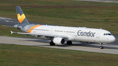 YL-LCY - Airbus A321-211 - Condor (SmartLynx Airlines)