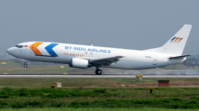 PK-MYJ - Boeing 737-436(SF) - My Indo Airlines
